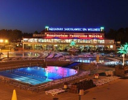 Basen SPA Aquapark Panorama Morska Jarosławiec