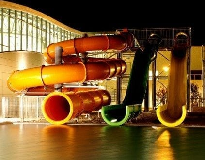 Kompleks Sportowo Rekreacyjny Termy Maltańskie - basen Poznań