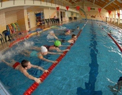 Baseny Wojewódzkiego Ośrodka Sportu i Rekreacji w Drzonkowie