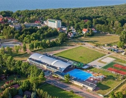 Aquapark w Ustroniu Morskim Baseny