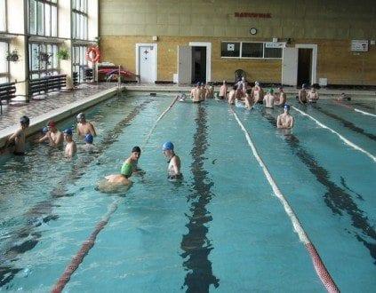 Basen ZSMEiE Toruń Nauka Pływania