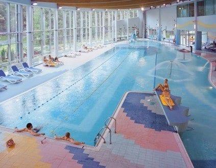 Kompleks Basenowy Hotelu Senator - basen Dźwirzyno