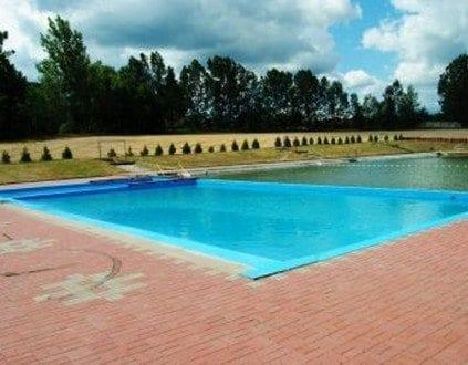 Basen Kąpielowy przy Zalewie Karaś - Lubsko