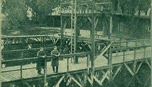 Pływalnia w Toruniu - 1923r.