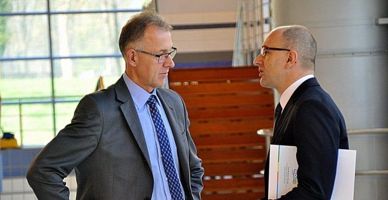 Minister Ździebło chwali raciborski Aquapark