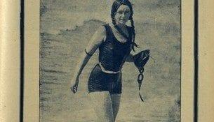 Po meczu pływackim z Czechami - Start nr 17, 1930r