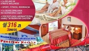 SPA dla przyjaciół i przyjaciółek - Panorama Morska