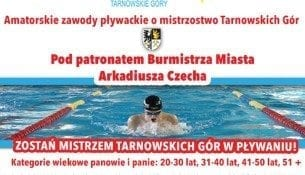 Amatorskie zawody pływackie o mistrzostwo Tarnowskich Gór