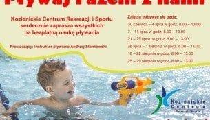 Wakacyjne promocje na kozienickiej pływalni Delfin!