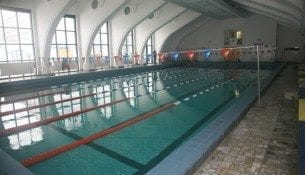 Pływalnia Kryta Ośrodka Polonia - basen Warszawa Śródmieście