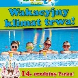 14 urodziny Parku Wodnego w Krakowie