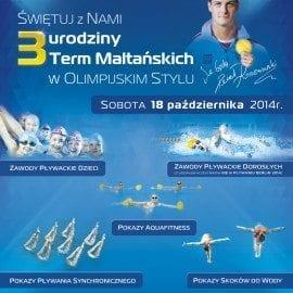 3 urodziny Term Maltańskich w olimpijskim stylu