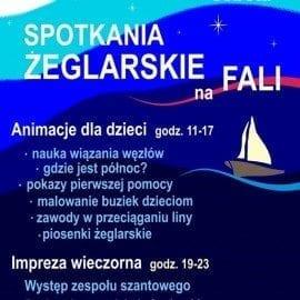 Spotkania Żeglarskie na FALI 8 listopada 2014, sobota w godz. 11:00-23:00