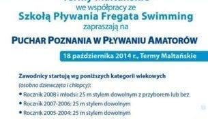 Zawody amatorów, ale emocje zawodowe! - Termy Maltańskie & Fregata Swimming