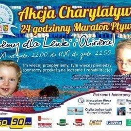 24 godzinny Maraton Pływacki – Akcja Charytatywna Wodzisław Śląski