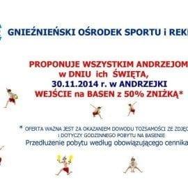 Gnieźnieński Ośrodek Sportu i Rekreacji - 30.11.2014