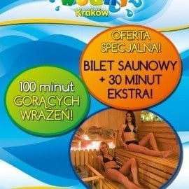100 minut gorących wrażeń! - Park Wodny Kraków