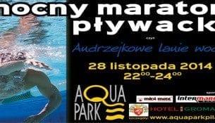 Andrzejkowe lanie wody - Aquapark Piła