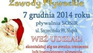 Mikołajkowe zawody pływackie - SOSiR Słupsk
