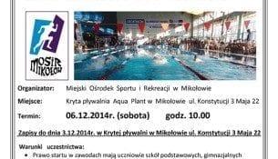 VII Mikołajkowe Zawody Pływackie - Aqua Plant Mikołów
