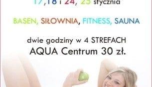 """Styczeń """"Be Fit"""" w Aqua Centrum w Kościerzynie"""