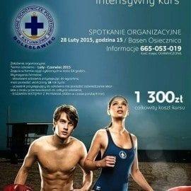 Intensywny kurs na Ratownika Wodnego - basen Osiecznica