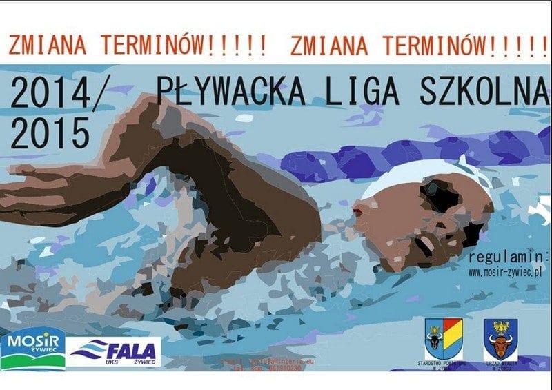 Zmiana terminów edycji Wiosennej Pływackiej Ligi Szkolnej 2015