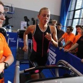 W Gdańsku odbyły się I w Polsce zawody triathlonowe pod dachem