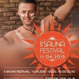 II Sauna Festival już 11.04.2015 - Aquapark Wrocław