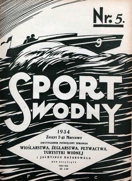 Nowe przepisy w skokach do wody i zasady sędziowania - 1934r