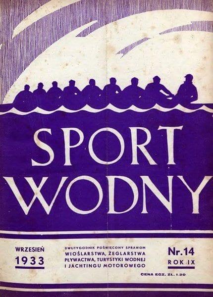 Mecz pływacki Polska-Czechosłowacja - 1933r