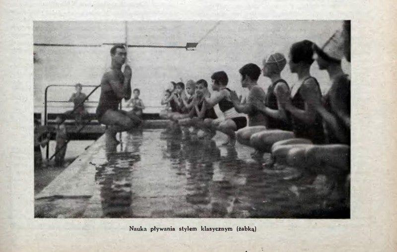 Nowe przepisy piłki wodnej - 1934r