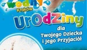 Urodziny dla Twojego Dziecka i Jego Przyjaciół - Park Wodny Kraków