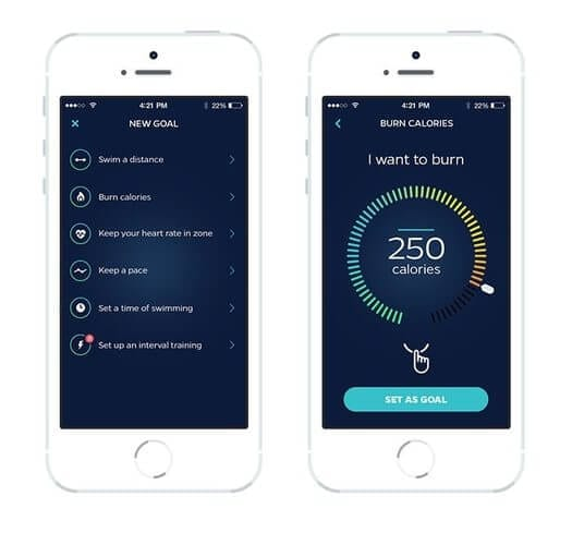 Swimmo Mobile App Goals & Training Guide