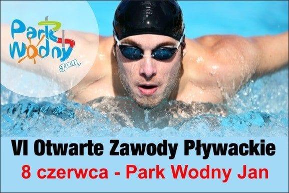 VI Otwarte Zawody Pływackie Park Wodny Jan