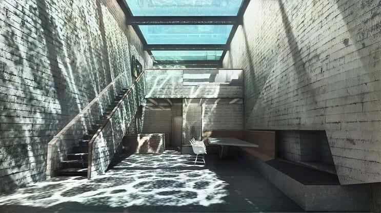 Casa Brutale - niesamowity dom z basenem na klifie
