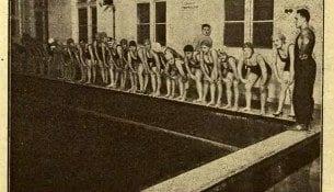 Przygotowania olimpijskie plywakow historia