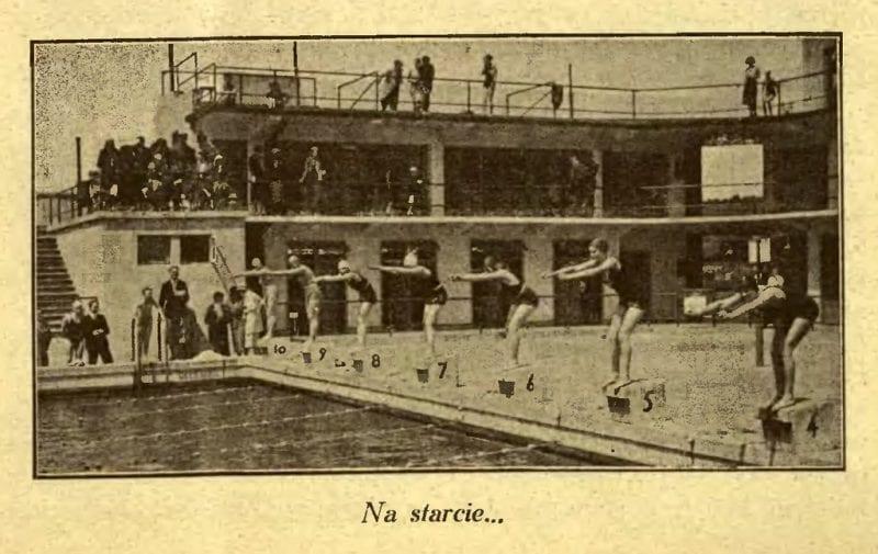 Przygotowania olimpijskie pływaków