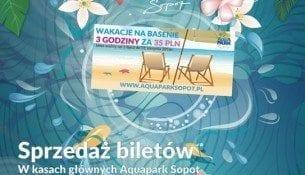 Aquapark Sopot Promocja Wakacje