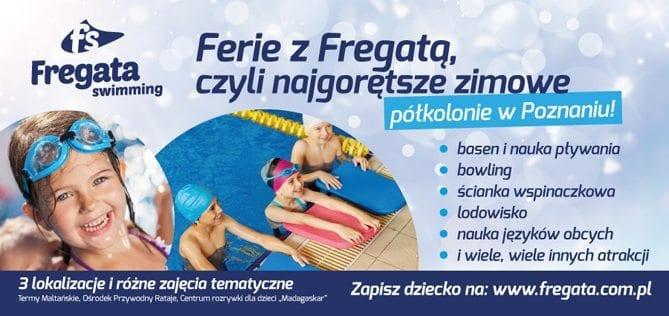 Ferie zimowe coraz bliżej, wybierz półkolonie z Fregatą!