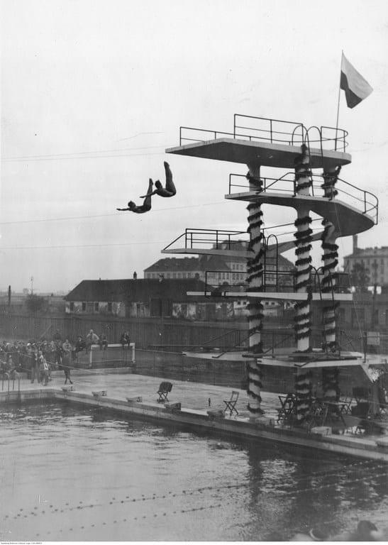 Międzynarodowe zawody pływackie w Warszawie