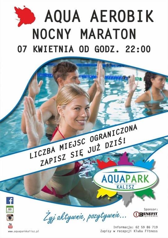 Aqua Aerobik - Nocny Maraton Park Wodny Kalisz