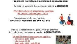 Aquaaerobik Basen Gniezno