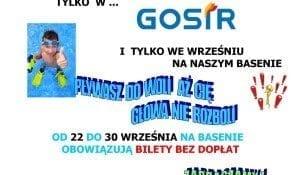 Bilety Basen Gniezno Promocja