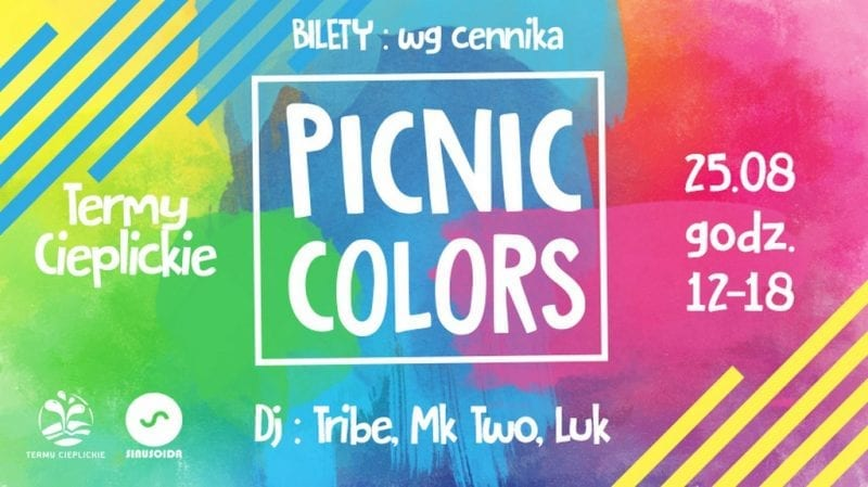 picnic colors Termy Cieplickie