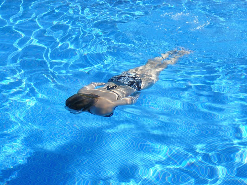 wiosenne plywanie basen gniezno