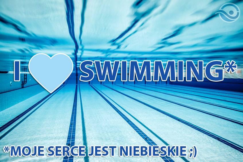 kocham plywanie