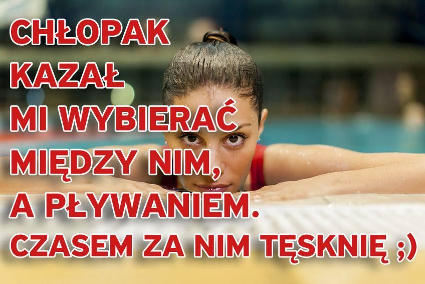 slogan plywanie