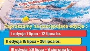 Wakacyjne kursy pływania na basenie w Gnieźnie
