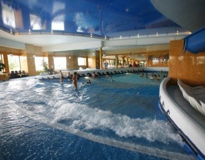Park Wodny Tropikana - basen Mikołajki Hotel Gołębiewski cennik, opinie, godziny otwarcia
